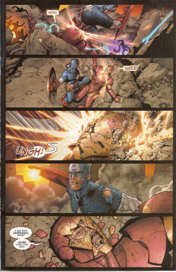 Captain America x Iron Man