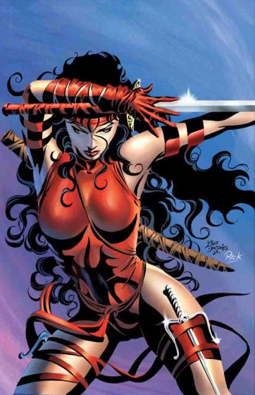 Elektra by Mike Deodato