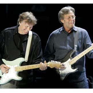 Winwood e Clapton