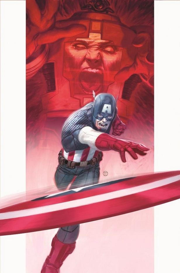 Capitão América: Steve Rogers de volta.