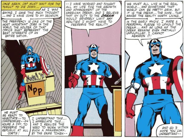 captain america 250 president speak