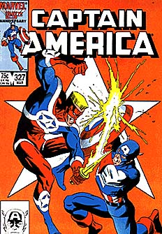 captain america 327 cover