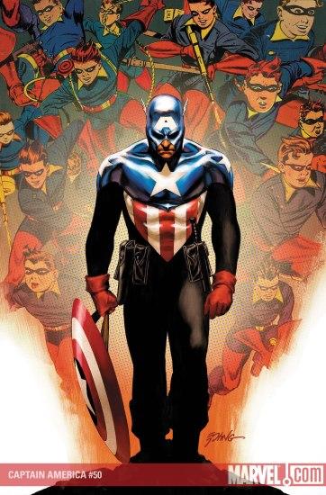 O novo Capitão América: Bucky Barnes.