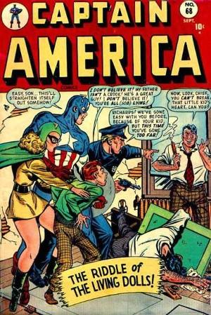 A Golden Girl em Captain America 68.