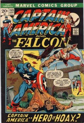 Captain America 153: a estreia de Steve Englehart e o arco do Capitão dos anos 1950. Arte de Sal Buscema.
