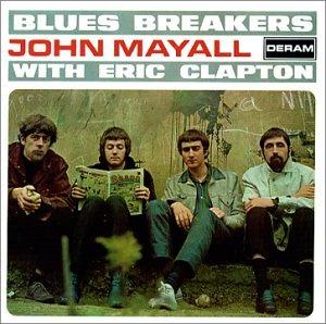 clapton album-bluesbreakers-with-eric-clapton cover 1966