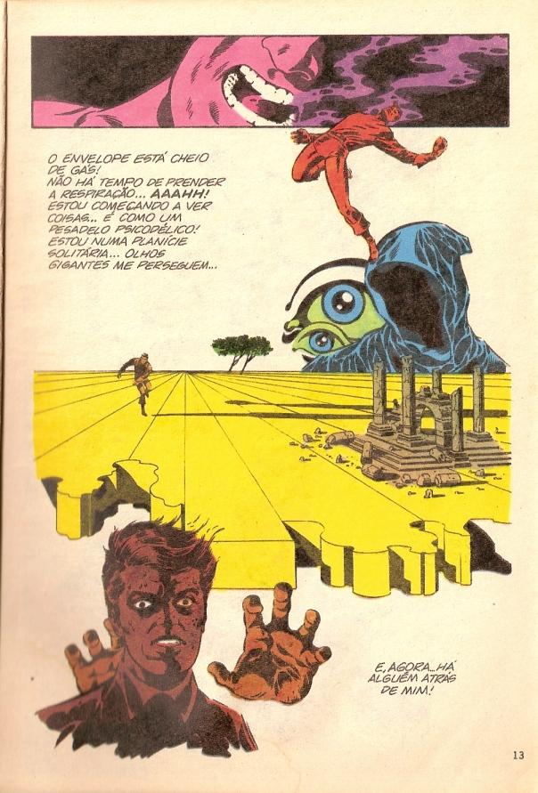 A viagem alucinada de Steranko: marco histórico.