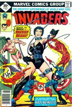 A bela capa da edição 17, por Gil Kane.