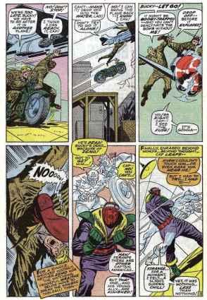 Flashback mostra confronto do Capitão com Zemo em Avengers 56, de 1968.
