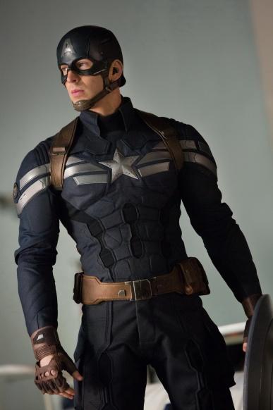 O uniforme do novo filme: baseado no Supersoldado dos quadrinhos.