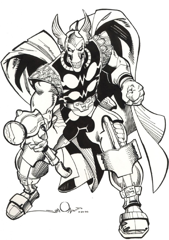 Bill Rio Beta by Walt Simonson