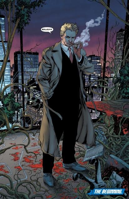 John Constantine nos quadrinhos atuais.