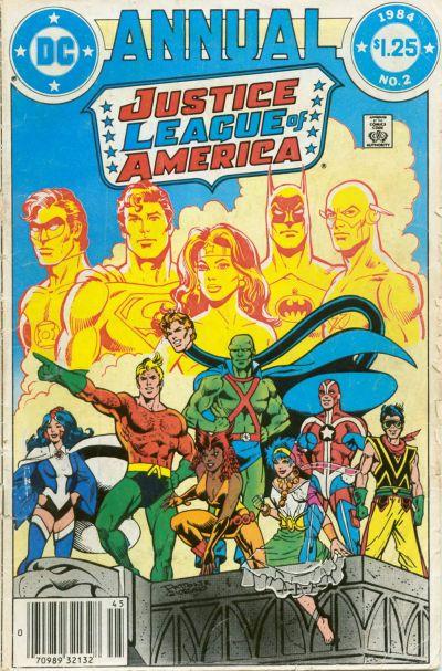Liga da Justiça Anual 2 - liga de detroit 1984