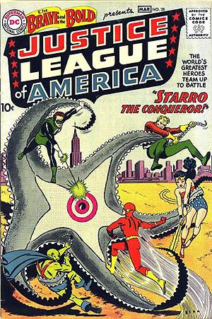 Liga da Justiça - Brave_bold_28 cover 1960
