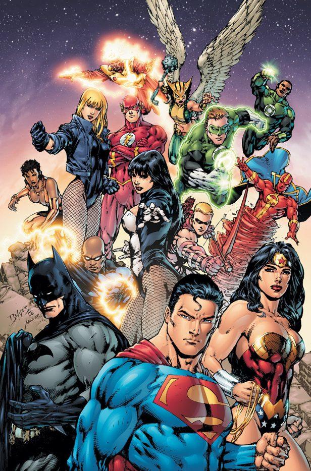 Liga da Justiça por Ed Benes e Dwayne McDuffie 2