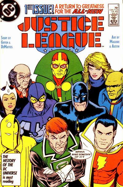 LJA 01 (vol.2) - 1987 - giffen dematteis maguire