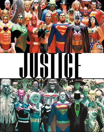 LJA Justice herois e viloes by alex ross