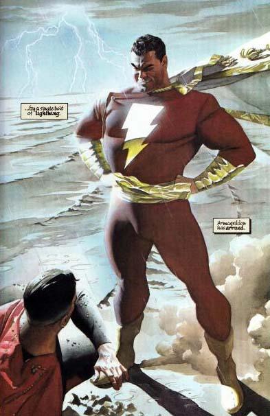 LJA kingdom come superman x captain marvel 01