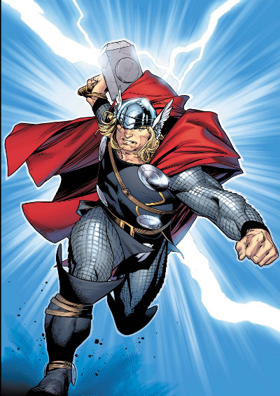 Thor by Olivier Coipel poster