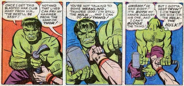 Avengers 03 hulk vs thor