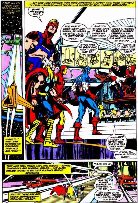 A maravilhosa arte de Neal Adams na Guerra Kree-Skrull.