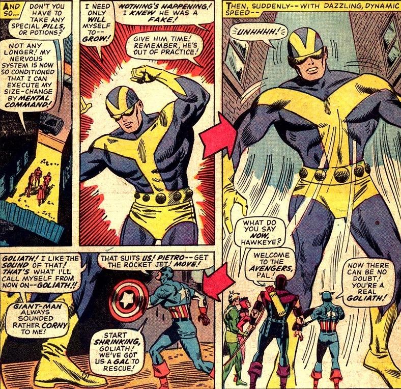avengers 29 the return of hank pym goliah