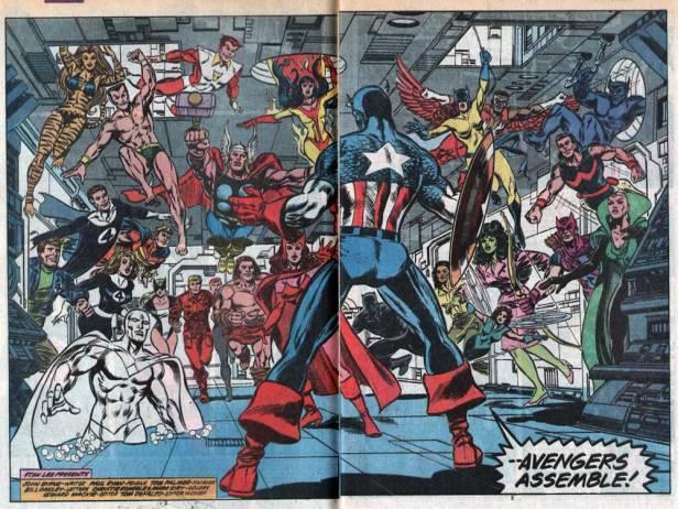Todos à disposição em Avengers 305.