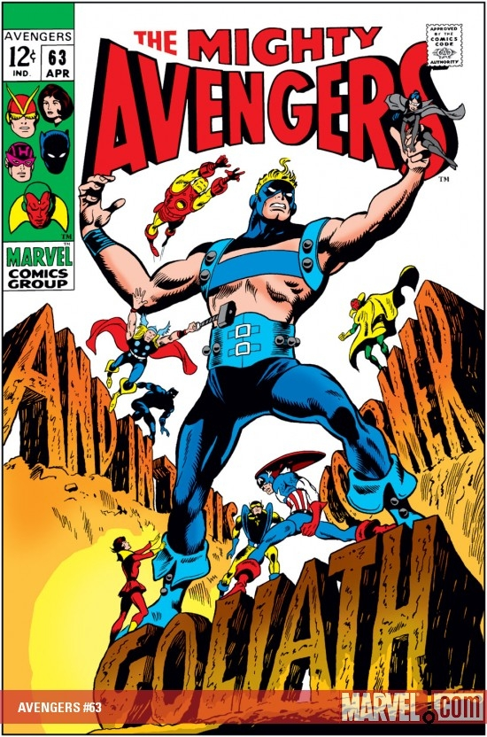 avengers 63 cover