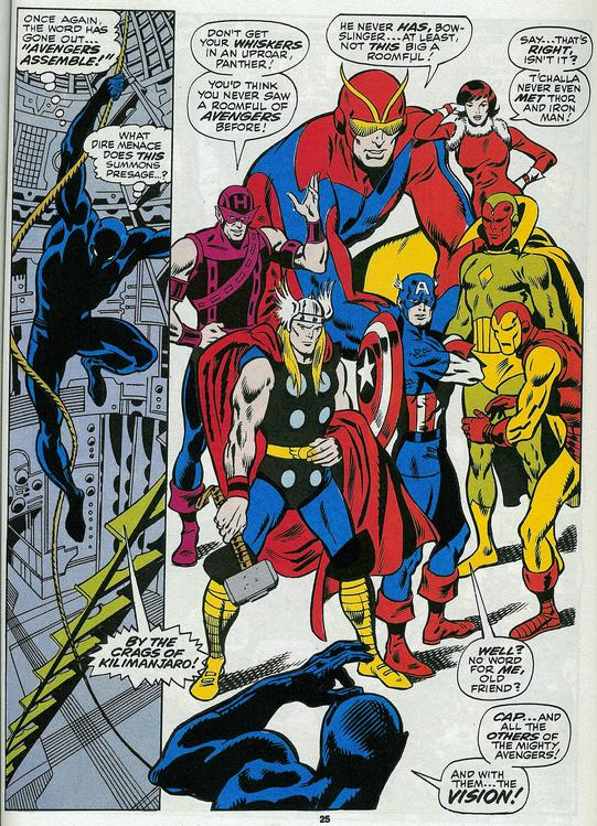 avengers by John Buscema from 1968