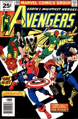 Avengers 150 encerra uma era.