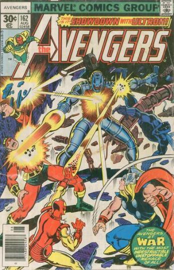 Avengers 162 traz A Noiva de Ultron.