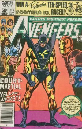 A Queda de Hank Pym, o Jaqueta Amarela.