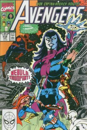 Cabe a Fabian Nicieza terminar a saga de Nebula iniciada por John Byrne.