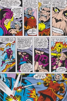 collector vs avengers hawkeye korvac saga