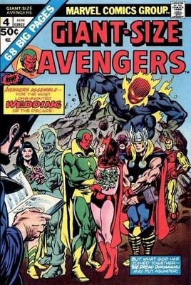 O duplo casamento (polêmico) em Giant-Size Avengers 04.