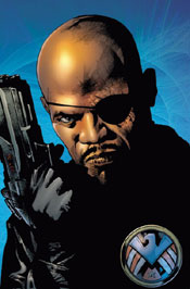 nick-fury by bryan hitch