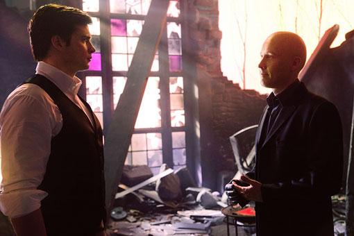 Clark (Welling) e Lex (Rosenbaum) se reencontram após anos: ex-amigos destinados a serem os maiores inimigos.