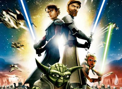 Clone Wars: sucesso na TV.