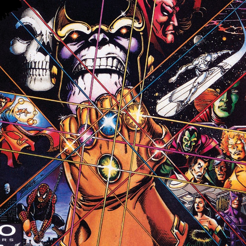 Thanos e a manopla do infinito by george perez
