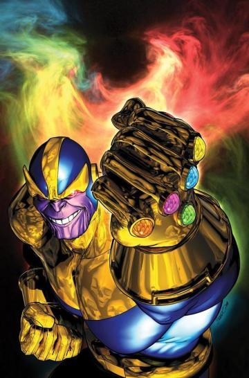 Thanos e a Manopla do Infinito nos quadrinhos: trama para Os Vingadores 3.