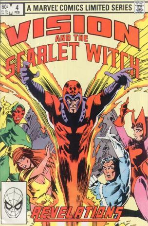 Enfim, a revelação de que Magneto é o pai da Feiticeira Escarlate e de Mercúrio.