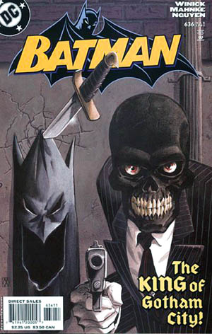 Batman 636 cover with black mask