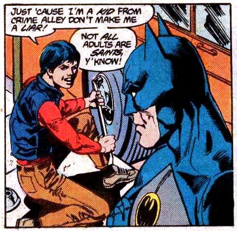 batman and Jason_Todd first encounter