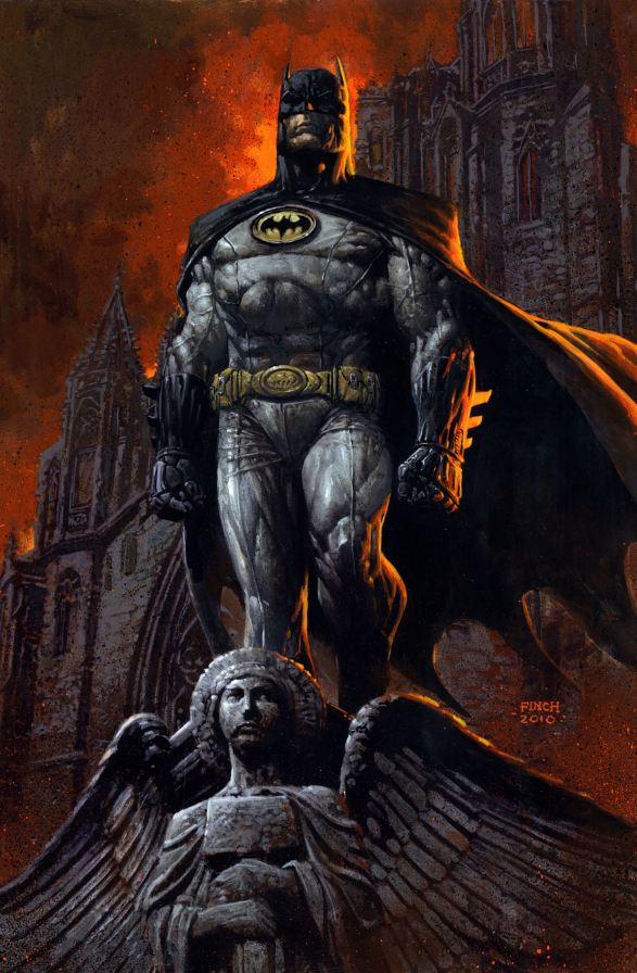 Batman-dark-knight by david finch new costume
