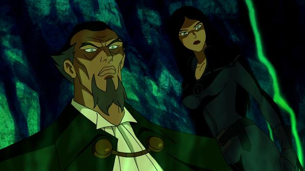Batman - ras al ghul and talia from red hood
