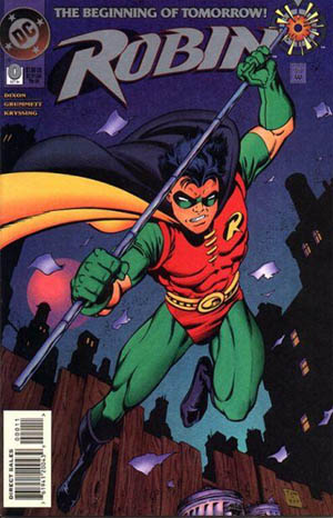 Batman - Robin 3 classic by Tom Grummett