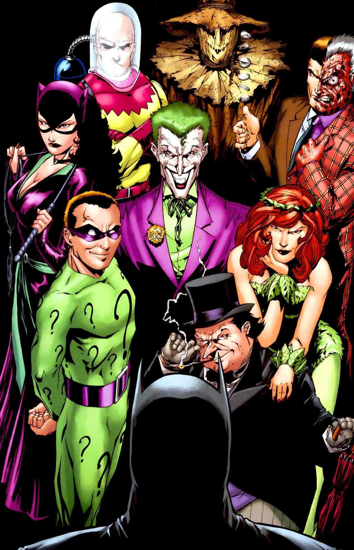 batman rogues gallery