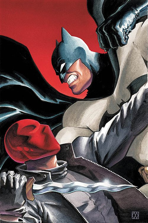 Batman-under-the-hood cover of comics detail