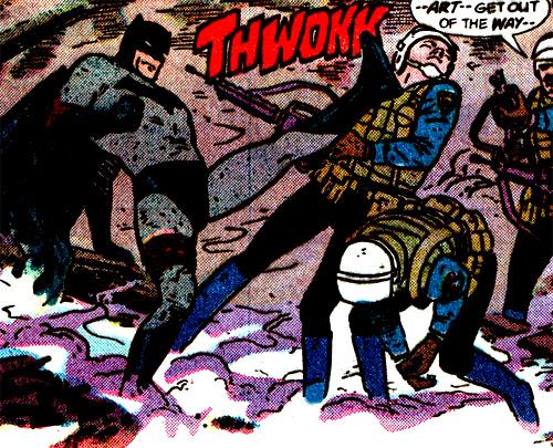 Batman Year One Facekick