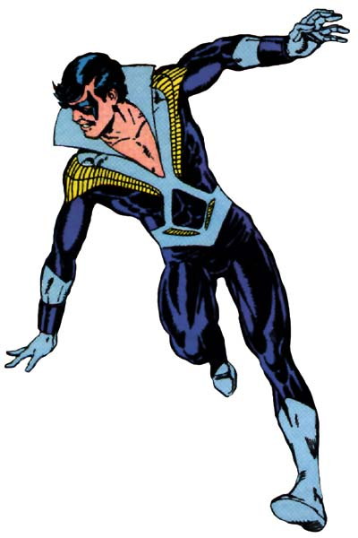 nightwing original costume
